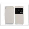 Haffner Sony Xperia Z3 (D6603) S-View Flexi oldalra nyíló flipes tok - fehér