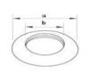 Tricox Takaró lemez 125 mm (2db) hűtés, fűtés szerelvény