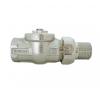 Mofém RVR-I 20 egyenes visszatérő szelep hűtés, fűtés szerelvény
