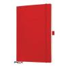"""SIGEL Jegyzetfüzet, exkluzív, A4, sima, 194 oldal, puhafedeles, SIGEL """"Conceptum"""", piros"""