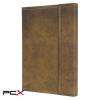 """SIGEL Jegyzetfüzet, exkluzív, A5, kockás, 194 oldal, mágneses záródás, SIGEL """"Conceptum Vintage"""", barna"""