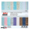 """APLI Mintás kartonpapír Scrapbooking-hoz, 15,2 x 15,2 cm, APLI, """"Moments"""""""