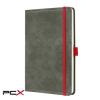 """SIGEL Jegyzetfüzet, exkluzív, A5, vonalas, 194 oldal, SIGEL """"Conceptum Vintage"""", szürke"""