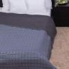 NATURTEX Laura microfiber ágytakaró (világosszürke-sötétszürke)