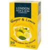 London Fruit and Herb London Fruit&Herb filteres citrom-gyömbér tea 20db
