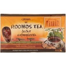 Gárdonyi teaház gyömbéres rooibos tea 20db tea