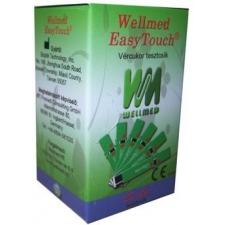 Wellmed Easy Touch vércukorszint mérő tesztcsík 25db vércukorszintmérő