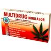 Multidrug Multidrog minilabor kábítószerfogyasztás kimutatására (drogteszt) 1db