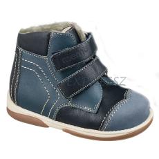 Memo MEMO Karát gyerekcipő - bélelt kék