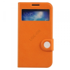 Baseus Colorful Folio tok SAMSUNG GALAXY S4 I9500, narancs/beige