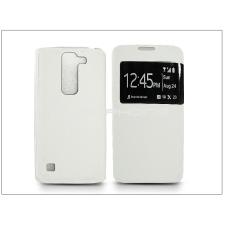 LG H440N Spirit LTE S-View Flexi oldalra nyíló flipes tok - fehér tok és táska