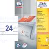 Avery 70×37mm univerzális címke / Avery 3474