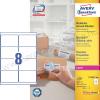 Avery 99,1 x 67,7mm fehér nagy fedőképességű csomag címke / Avery L7165-100