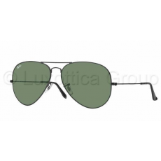 Ray-Ban RB3026 L2821 AVIATOR TM LARGE METAL II BLACK CRYSTAL GREEN napszemüveg (RB3026__L2821)