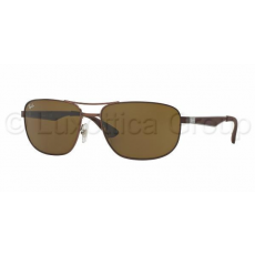Ray-Ban RB3528 012/73 MATTE DARK BROWN DARK BROWN napszemüveg (RB3528__012_73)
