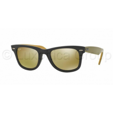 Ray-Ban RB2140 117393 WAYFARER BLACK LIGHT BROWN MIRROR GOLD napszemüveg (RB2140__117393)