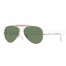 Ray-Ban RB3029 L2112 OUTDOORSMAN II ARISTA CRYSTAL GREEN napszemüveg (RB3029__L2112)