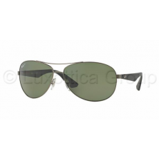 Ray-Ban RB3526 029/9A MATTE GUNMETAL POLAR DARK GREEN napszemüveg (RB3526__029_9A)