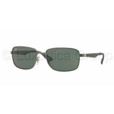 Ray-Ban RB3529 029/71 MATTE GUNMETAL DARK GREEN napszemüveg (RB3529__029_71)