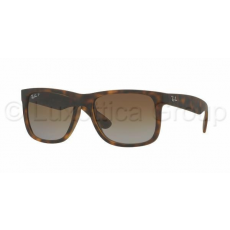 Ray-Ban RB4165 865/T5 JUSTIN HAVANA RUBBER POLAR BROWN GRADIENTnapszemüveg (RB4165__865_T5)