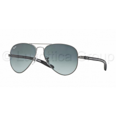 Ray-Ban RB8307 029/71 AVIATOR TM CARBON FIBRE MATTE GUNMETAL GREY GRADIENT DARK GREY napszemüveg (RB8307__029_71)