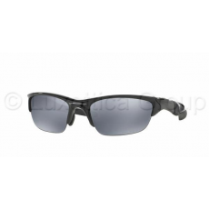 Oakley OO9144 04 HALF JACKET 2.0 POLISHED BLACK BLACK IRIDIUM POLARIZED napsezmüveg (OO9144_04)