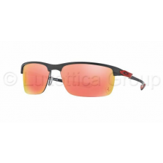 Oakley OO9174 06 CARBON BLADE POLISHED/ FERRARI RED RUBY IRIDIUM POLARIZED napszemüveg (OO9174_06)
