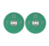 Capital Sports Performan Urethane Plates, zöld, 10 kg, pár súlyzótárcsa súlytárcsa