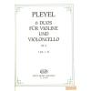 EMB 6 duos violine und violoncello Op.4 I.