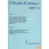Magvető Újhold-Évkönyv 1987/1