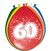 60. évszámos lufi (8 db/cs)