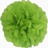 Papír gömb / pom-pom (25 cm átmérő )zöld