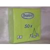 33*33 cm élénkzöld szalvéta (50 db), 2 rétegű