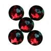 Gyémánt dekorkő bordó ( 18 mm), 8 db