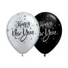 Lufi HAPPY NEW YEAR ! ezüst (5 db)
