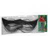 papír szemüveg, fekete (10 db)