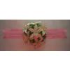 Asztaldísz rózsaszín 13. (40 cm)
