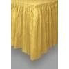 Asztalszoknya arany, műanyag (73 * 426 cm)