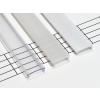 Opál takaróprofilok, beépíthető, 1 méteres profilokhoz