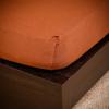 NATURTEX Jersey gumis lepedő csokibarna