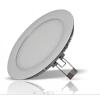 LEDvonal LED panel / 6W / süllyesztett / kerek / természetes fehér