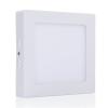 LEDvonal LED panel / 18W / falon kívüli / négyzet / meleg fehér