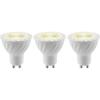 LED lámpa 55 mm 230 V GU10 3.5 W = 15 W, 3 db, Basetech