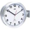 Rádiójel vezérlésű kétoldalas pályaudvari óra, (Ø) 40 cm Alumínium