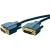 ClickTronic DVI Csatlakozókábel [1x DVI dugó, 24+1 pólusú - 1x DVI dugó, 24+1 pólusú] 5 m Kék 2560 x 1600 pixel clicktronic