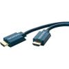 HDMI Csatlakozókábel [1x HDMI dugó - 1x HDMI dugó] 15 m Kék 3840 x 2160 pixel clicktronic