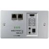 HDMI Extender vevő egység, jelátalakító, falba építhető IP védett Inakustik Exzellenz 9120304