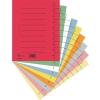 Regiszter, karton, A4, DONAU, vegyes színek 100 db/csomag