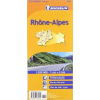MICHELIN 523. Rhone Alpes térkép Michelin 1:200 000