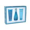 Davidoff Cool Water Női parfüm Set (Ajándék szett) EDT 100ml + 75ml Testápoló tej + 75ml Tusfürdő gél